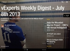 vExpert Weekly Digest – July 8th 2013