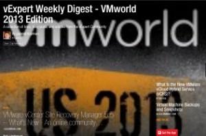 vExpert Weekly Digest – VMworld 2013 Edition
