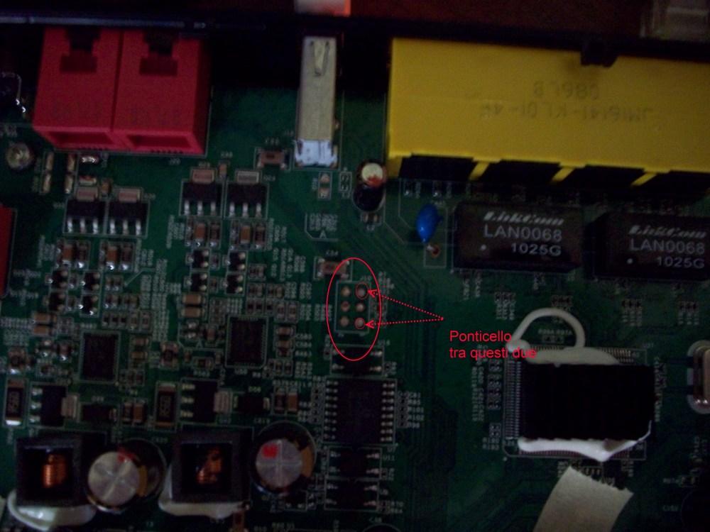 modificare il router Pirelli Alice Gate Voip 2 Plus Wi-Fi (6/6)