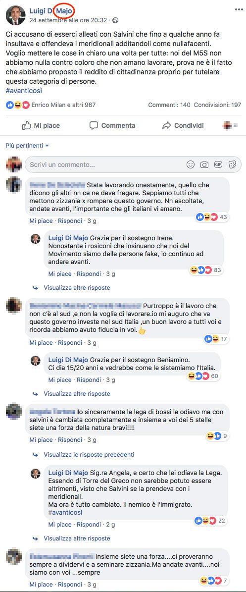 Per capire il livello di alfabetizzazione degli italiani basta un post