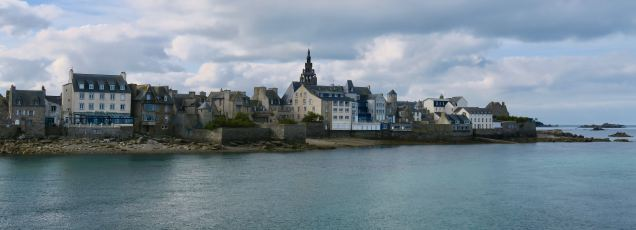 Roscoff im Departement Finistere