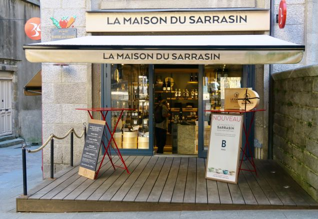 Buchweizenspezialist in Saint-Malo