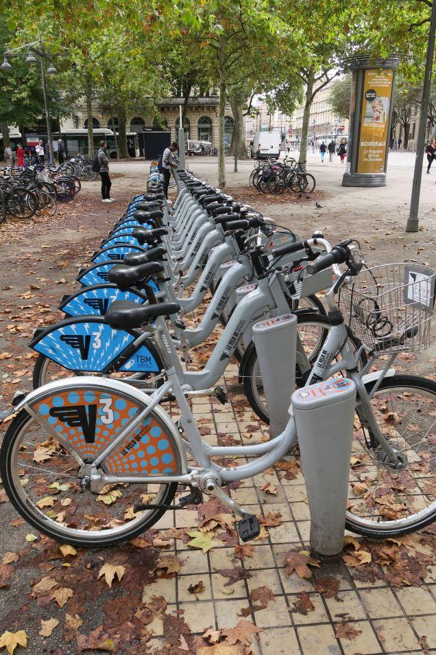 Bordeaux Leihräder