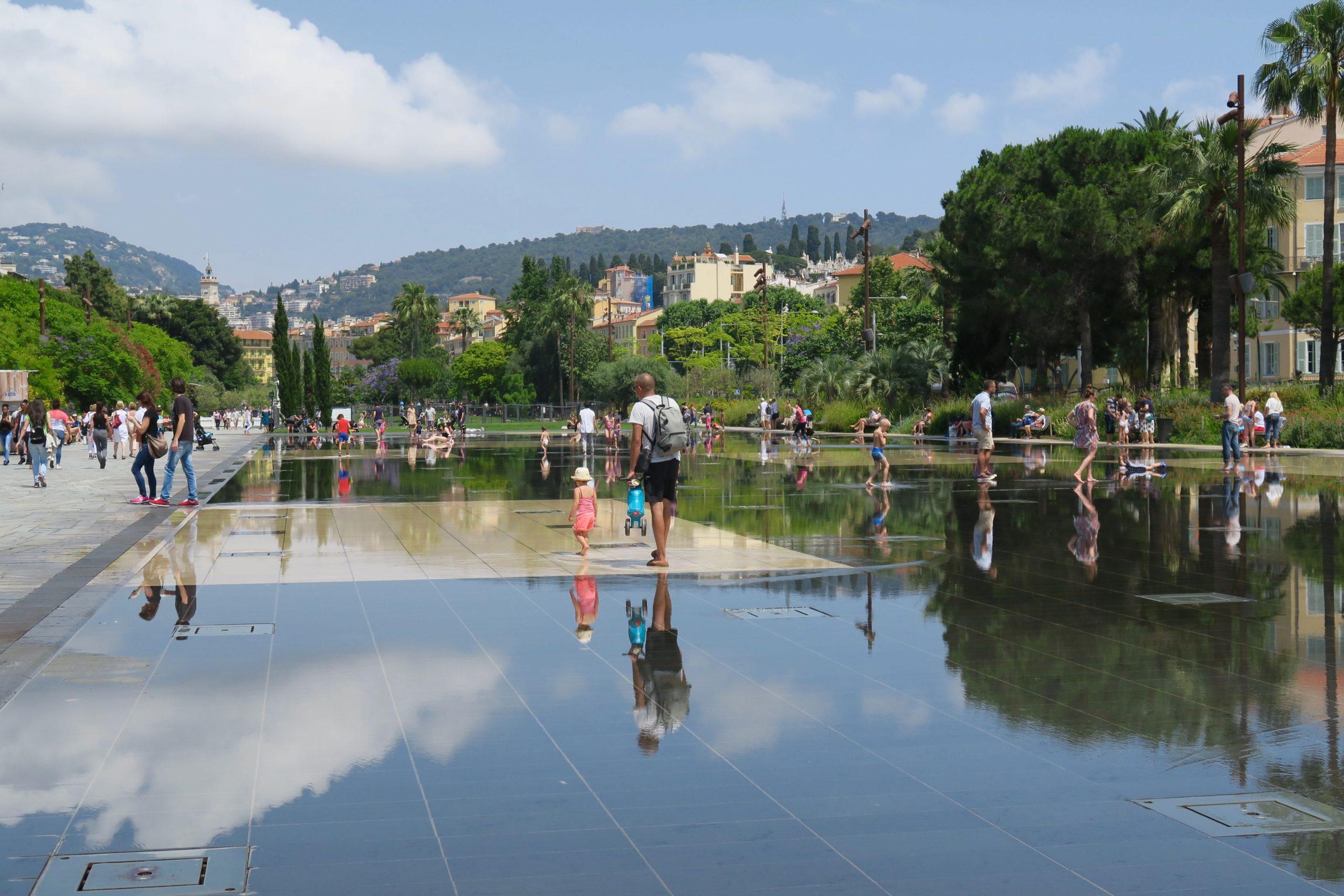 Nizza Promenade du Paillon
