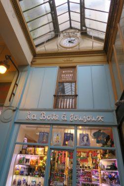 Paris Frankreich Passage Jouffroy