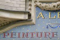 Mosaikschrift Paris