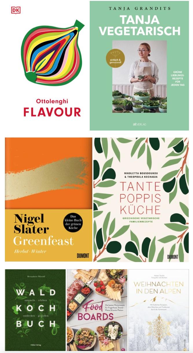 neue Kochbücher Herbst 2020