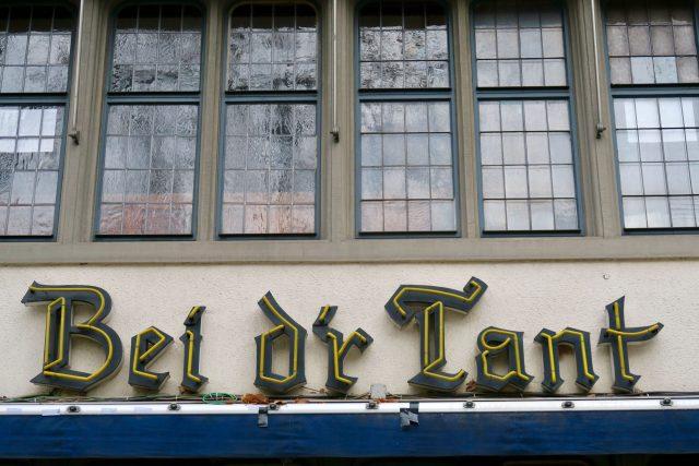 Köln Typo Leuchtschrift