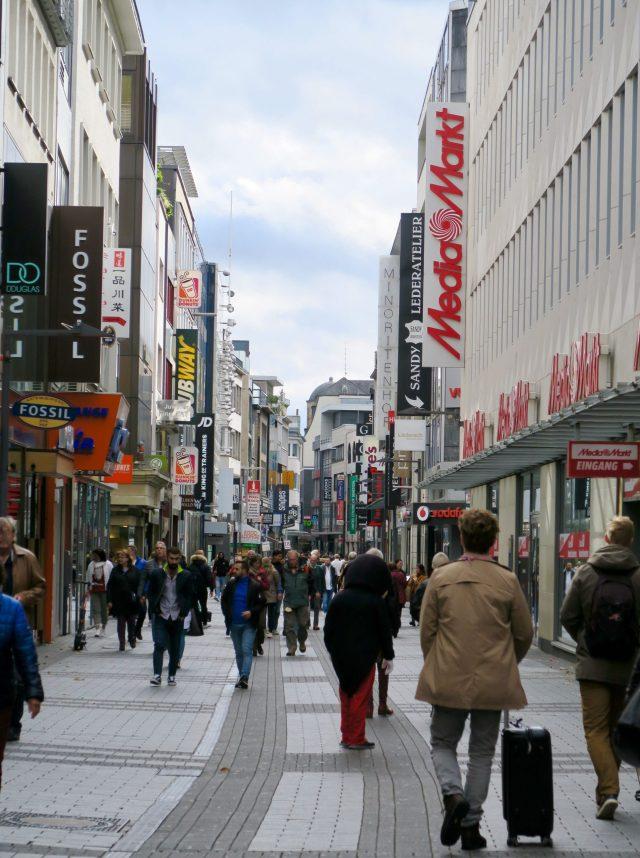 Typo Köln Hohe Straße