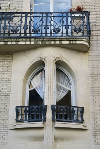 Paris Jugenstilarchitektur 16e
