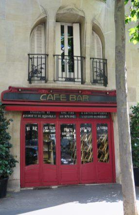 Paris Jugendstilgebäude 16e