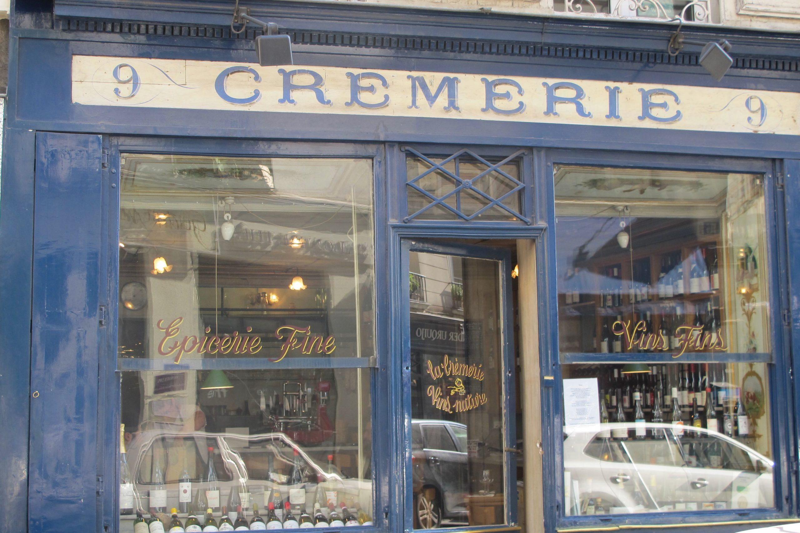 Paris Buchstabenmaler