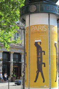 Litfasssäule Paris