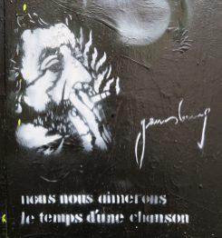 Street-Art Gainsbourg