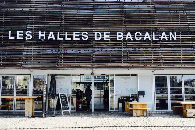 Bordeaux neue Markthalle gegenüber der Cité du Von
