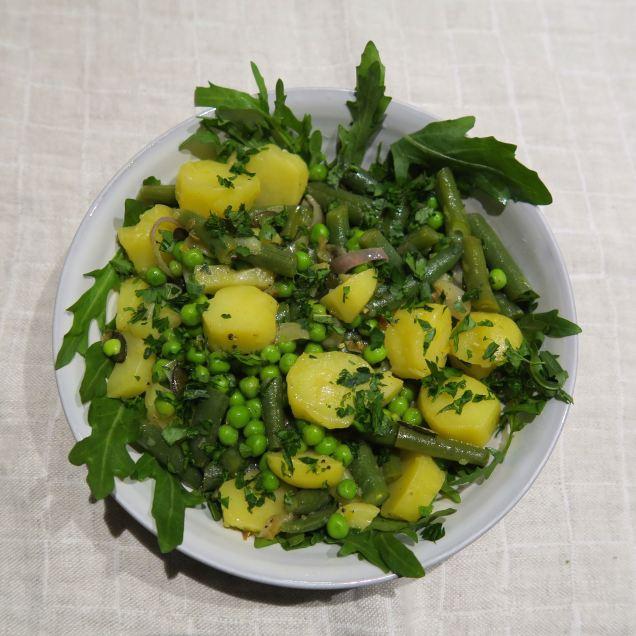 Kartoffeln Erbsen Bohnen