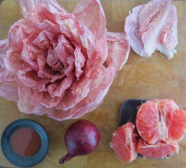 Rosa Radicchio-Salat