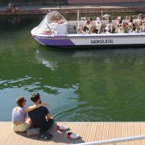 Am Ufer der Ill - Strasbourg