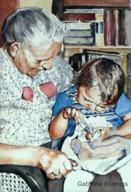 Die Liebe hört niemals auf (Hommage an meine Großmutter)