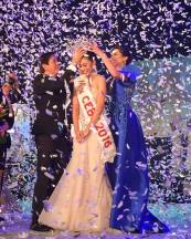Crowned as Miss Cebu 2016 by Hon. Mayor Michael Rama and Wynona van Joy Buot, Miss Cebu 2015