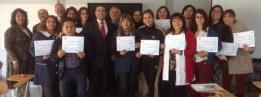 """Culminación de la jornada capacitadora """"Liderazgo Espiritual de Influencia"""", para profesores tutores del Colegio Cristiano de Quillota, Chile"""