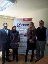 Con los directores de I POWER, Santiago de Chile