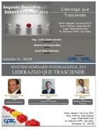 Seminario para líderes organizacionales: LIDERAZGO QUE TRASCIENDE