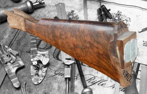 walnut gunstock