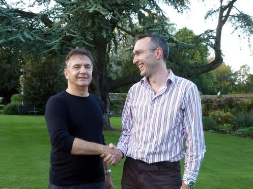 Raymond Blanc and Gabriel Hemery