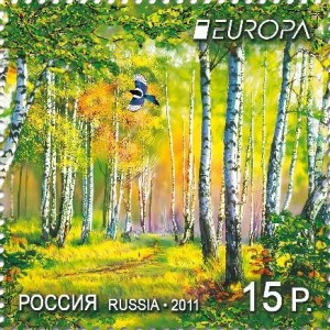Russia Europa stamps