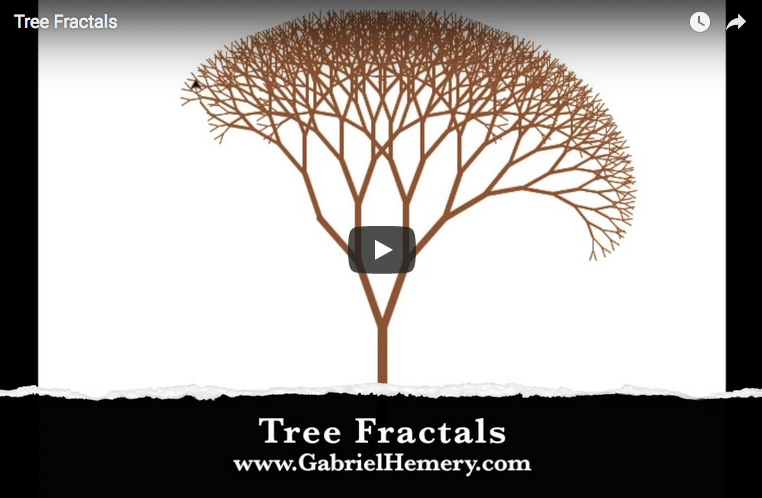The art and math of tree fractals