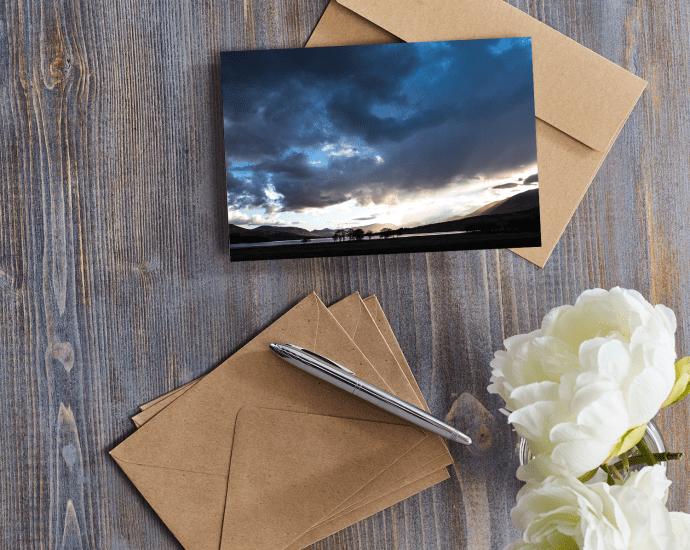 Loch Tulla Greetings Card