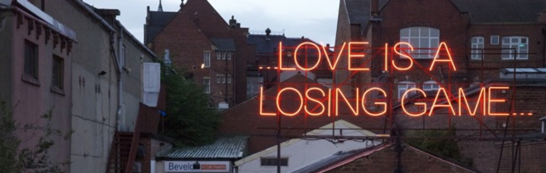 loving is a losing game