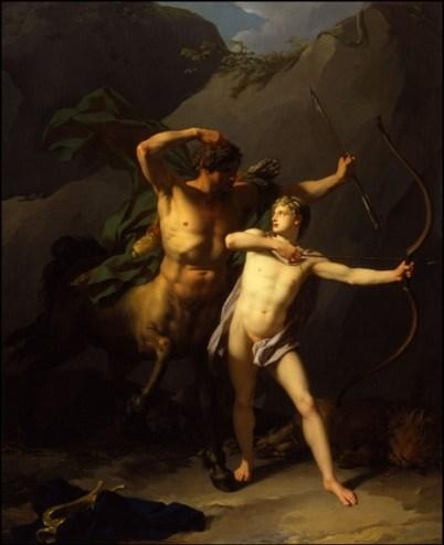 Chirone ed Achille