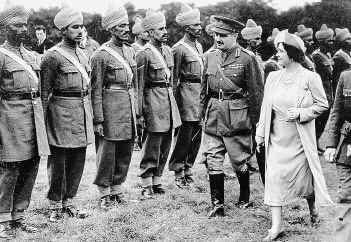 British Army India
