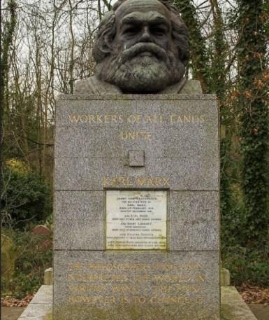 Highate, Tomba di Marx