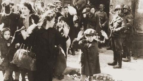 Roma, 13 ottobre 1943. Rastrellamento del quartiere ebraico