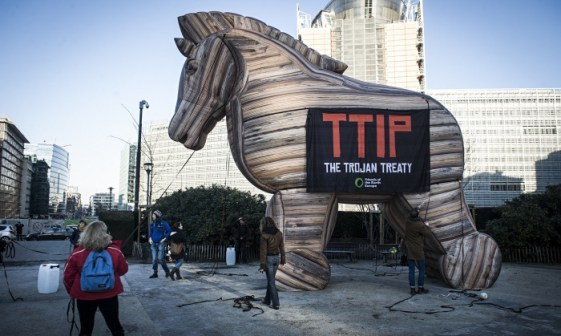 protesta anti TTIP