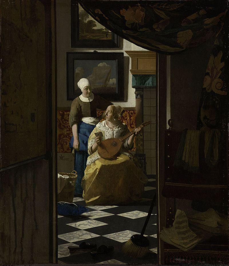 Vermeer,_Johannes_-_The_Loveletter
