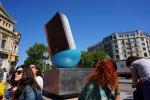 Gran Via - Passeig de Gracia Monumento libro