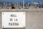 Port Olimpic moll de la marina