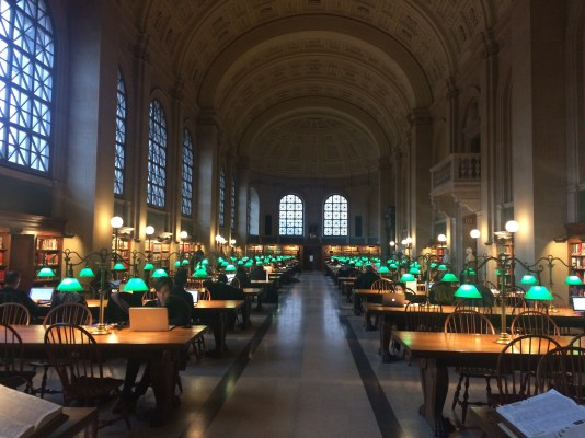 We also went to the Boston Public Library but that was so neat that it deserves its whole own photo set!