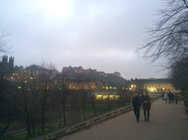 A quick photo of the old town that I snapped as Lindsey and I walked back to the train station at the end of the day.