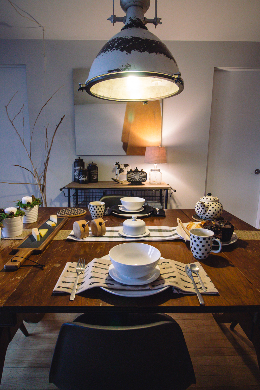 Luminaire Salle A Manger Tendance 2017 la salle à manger, ma table champêtre - gabrielleo