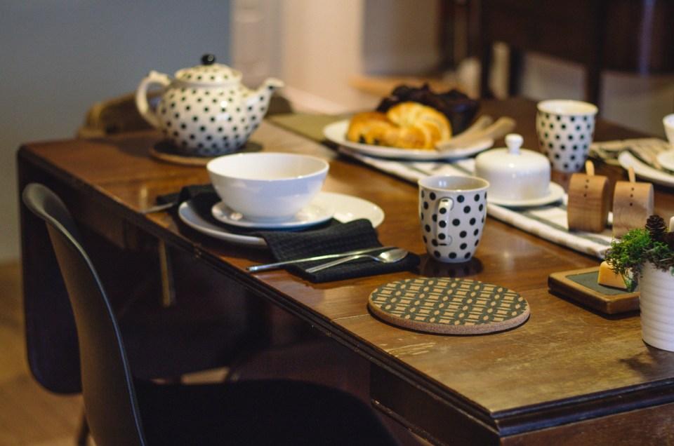 La salle à manger, ma table champêtre