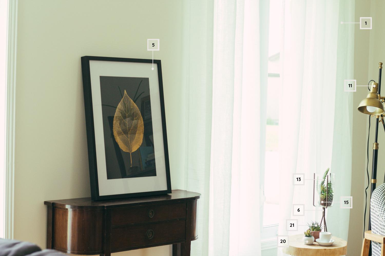 aménager et décorer le coin lecture dans un salon