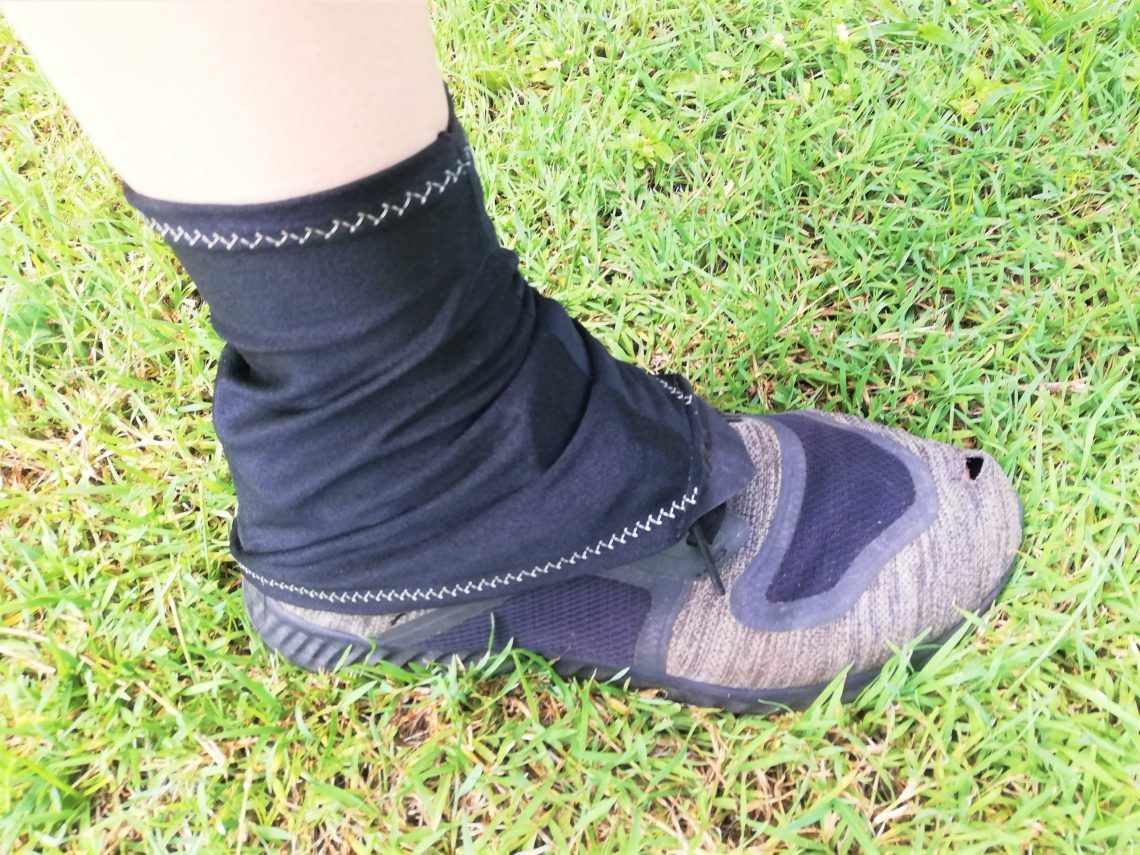 How to sew hiking gaiters, DIY tutorial, Te Araroa, Thru Hiking, Gabrielle George