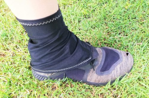 How to sew hiking gaiters, DIY tutorial, Te Araroa, Thru Hiking, Gabrielle George