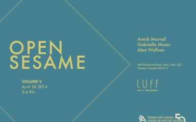 Open Sesame Critics Forum, April 26 at LUFF