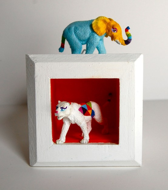 animal shadowbox gabrielle peck